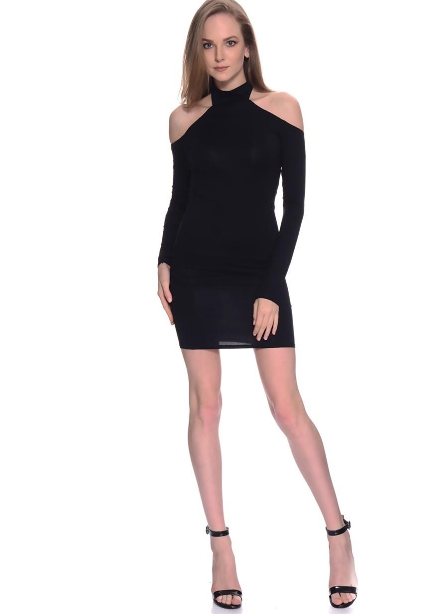 Missguided Kadın Elbise SİYA 42 Beden